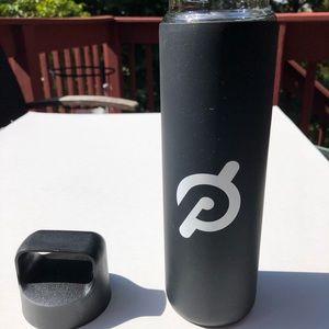 Peloton Glass Silicone Non Slip 20 oz Water Bottle
